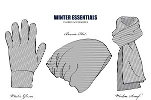 Winter Essential Fashion Accessories