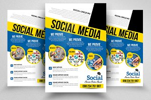 Social Media Marketing PSD Flyer