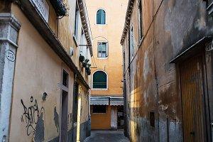 Beautiful photo street of Venice , I