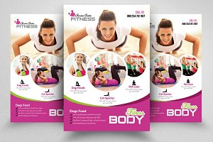 Gym  Fitness Flyer Templates