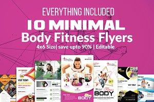 10 Fitness Flyers Bundle Vol: 02