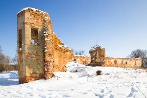 ruins Golshany, Belarus