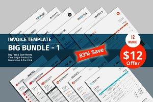 Invoice Template Big Bundle - 1