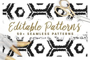 50+ Seamless Patterns