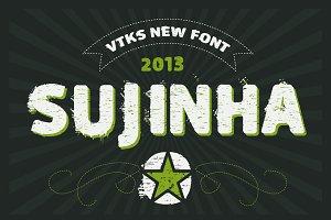 Sujinha font by Vtks