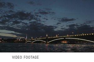 The Troitsky bridge Saint Petersbg