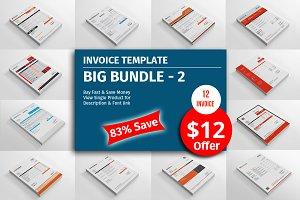Invoice Template Big Bundle - 2