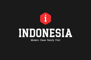 Indonesia Family | Premium Font!
