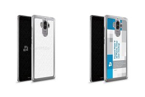 Huawei Mate 9 2d PC Clear Case
