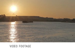Sunrise in Saint Petersburg