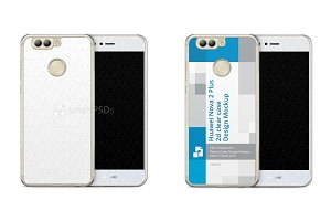 Huawei Nova 2 Plus 2d PC Clear Case