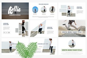 Kellia Google Slide Template