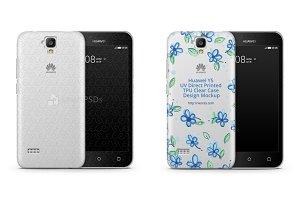 Huawei Y5 UV TPU Clear Case