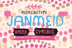 Janmeid -50%  Greek+Cyrillic