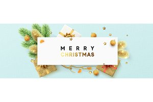 Merry Christmas design poster, bennr, greeting card.
