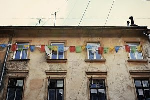 Old street of Lviv