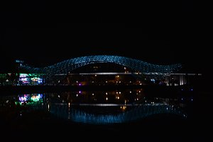 bridge reflected in river (+5 free)