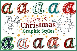 Christmas Graphic Styles