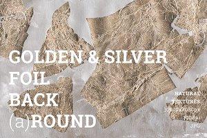 Gold foil Bronze texture backgrounds