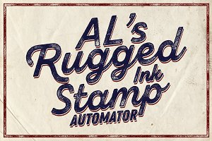 AL's Rugged Ink Stamp Automator