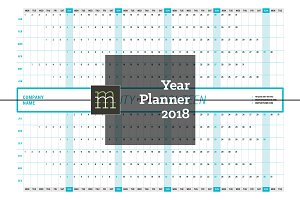 Year Planner 2018 (YP003-18)