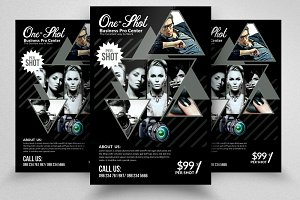 Photography PSD Flyer Template