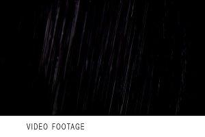 Rain HD isolated on black Variant 1