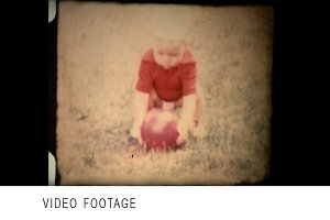Vintage 8mm film footage