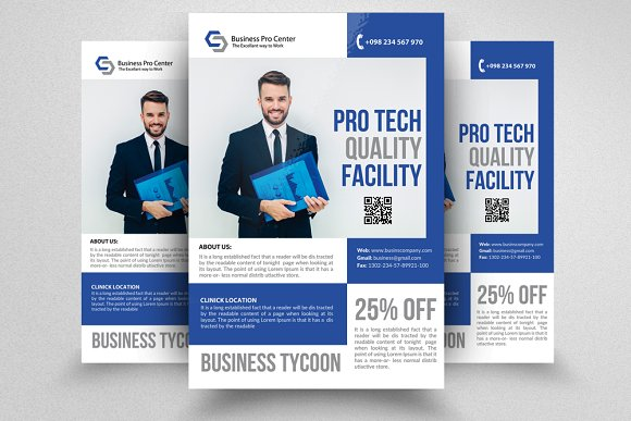 10 business flyer bundle vol 01 flyer templates creative market