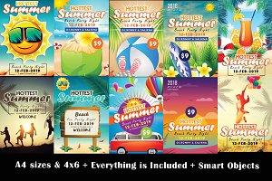 10 Summer Flyer Bundle Vol.02