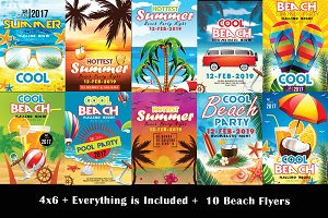 10 Summer Flyer Bundle Vol.01