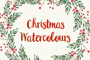Christmas Watercolour Designs