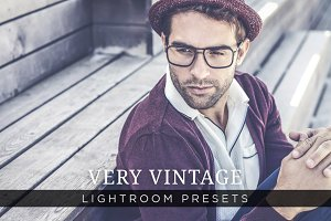 Very Vintage Lightroom Presets Vol 1