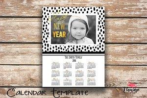 2018 Calendar Template -