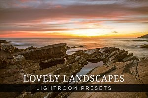 Lovely Landscapes Lightroom Presets