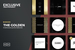 The GOLDEN Social Media Templates