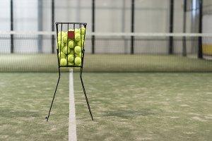 Paddle tennis sport