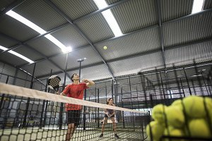 Paddle tennis sport