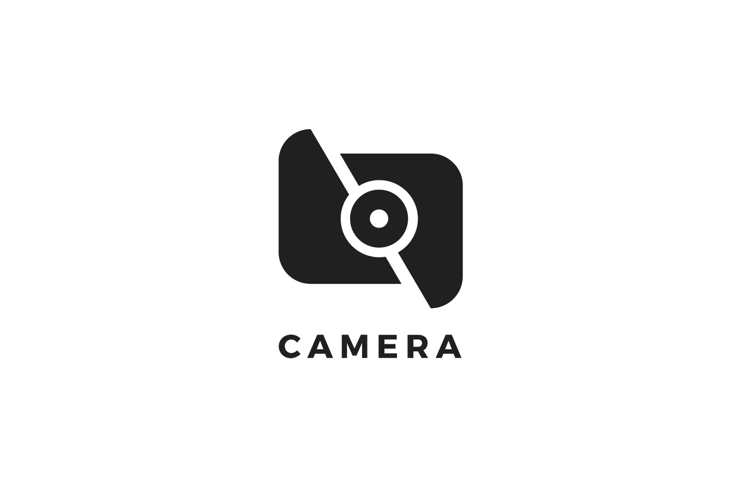Camera Logo Template ~ Logo Templates ~ Creative Market