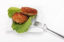 Roasted Cutlets of pork