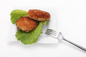 Roasted Cutlets of pork