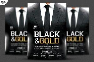BLACK & WHITE SUITE Flyer Template