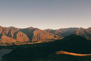 Rocky mountain hike