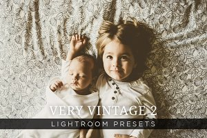 Very Vintage Lightroom Presets Vol 2