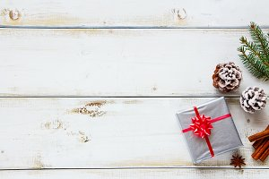 Gift and christmas decorations