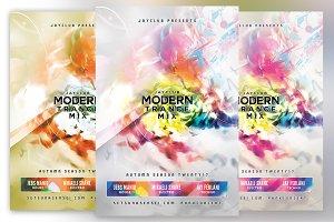 Modern Trance Mix Flyer