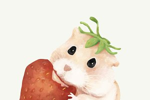 Illustration of hamster