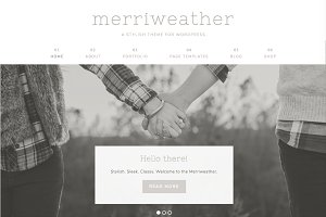 Merriweather Wordpress Theme