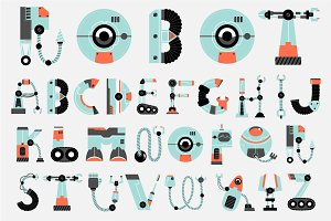 ROBOT font collection
