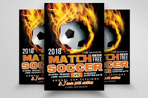 Football Flyer Templates